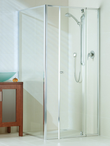 Optima shower screen